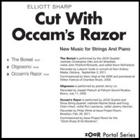 Elliott Sharp - Cut With Occam's Razor